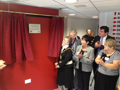 Blurton Hub – official opening